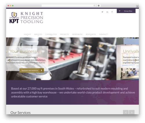Knight best WordPress theme - knightprecisiontooling.com