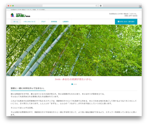 LIQUID CORPORATE top WordPress theme - hamonika.com