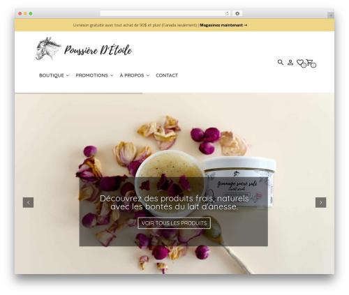 Mr. Tailor WordPress template - savonneriepoussieredetoile.com