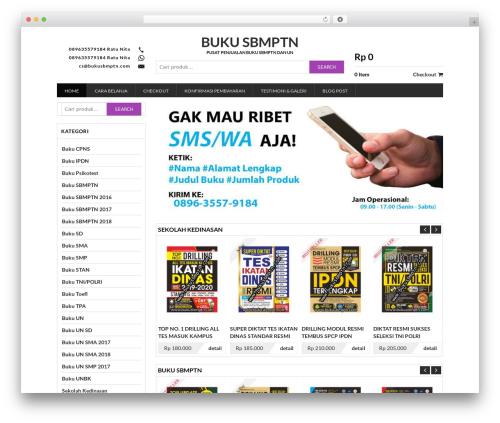 Sandal Jepit WordPress theme - bukusbmptn.com