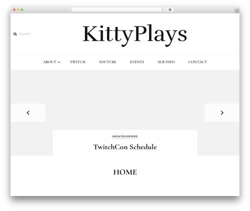 Theme WordPress Blossom Fashion - kittyplays.com