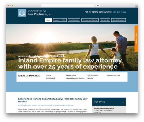 Theme WordPress Project X v15 - peelmanfamilylaw.com