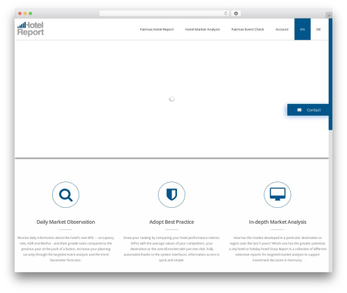 Advertica theme WordPress - fairmashotelreport.com