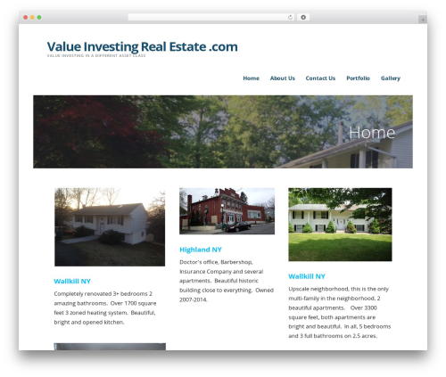 Ascension WordPress real estate - valueinvestingrealestate.com