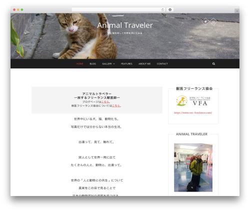 Best WordPress template Pixgraphy - animaltraveler.com