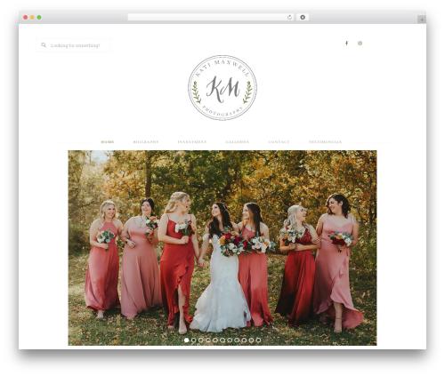 Bloom Theme wallpapers WordPress theme - katimaxwellphotography.com