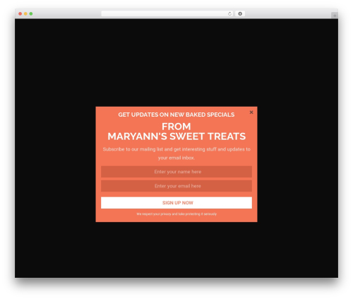 Colorist WordPress template free download - mabsweets.com