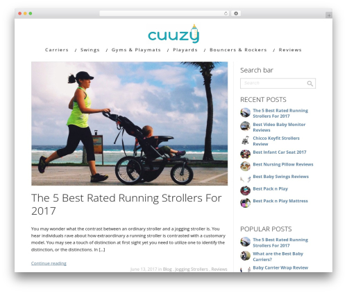 Minus WordPress theme - cuuzy.com