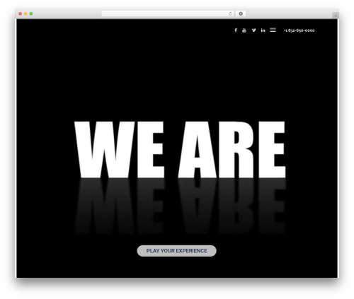 Nelva template WordPress - graybriefcaseproductions.com