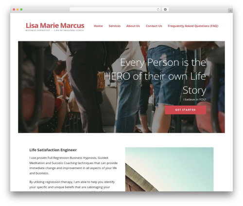 WP theme Ascension - lisamariemarcus.com