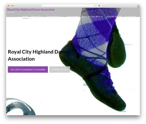 WordPress cff-masonry plugin - royalcityhighlanddance.com