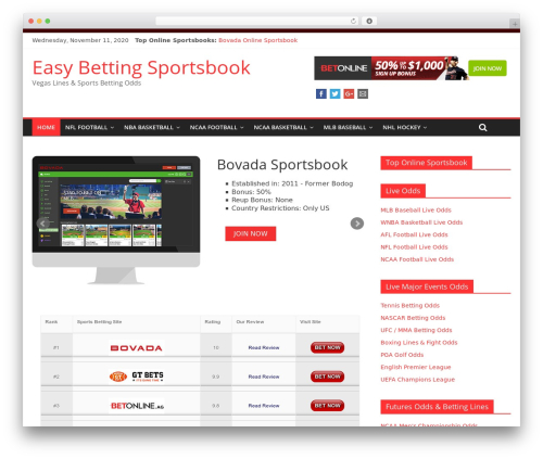 ColorMag theme free download - easybettingsportsbook.com