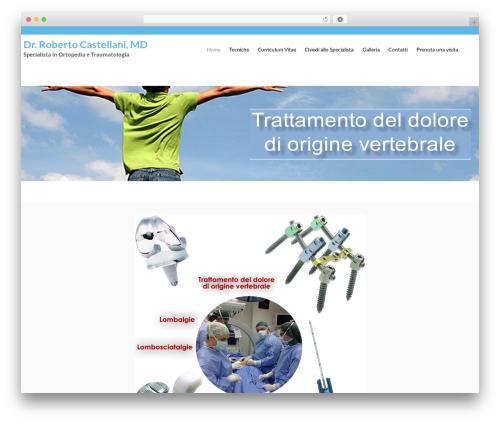 Flat Responsive theme free download - robertocastellani.com