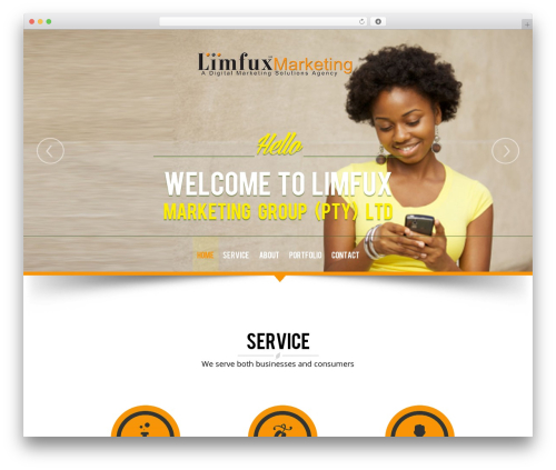 NatureWPThemes WordPress theme - limfux.com