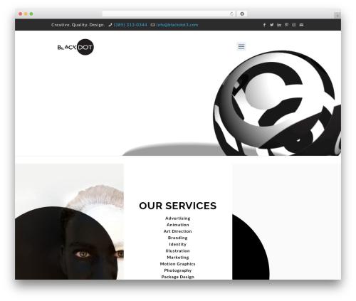 Template WordPress Betheme - blackdot3.com