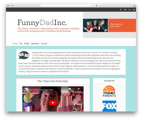 Wordpress Website Template Voice Child By Meks Page 7