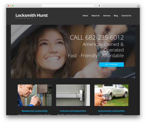 WordPress template Ascension - locksmithhurst.com