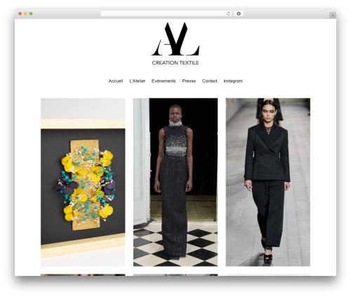 WordPress theme Maker - aurelialeblanc.com