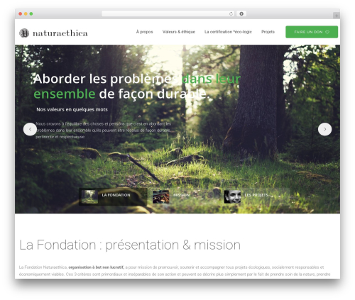 Best WordPress theme vrukshagra - naturaethica.com