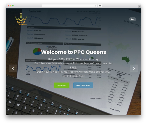 Businessx WordPress template for business - ppcqueens.com