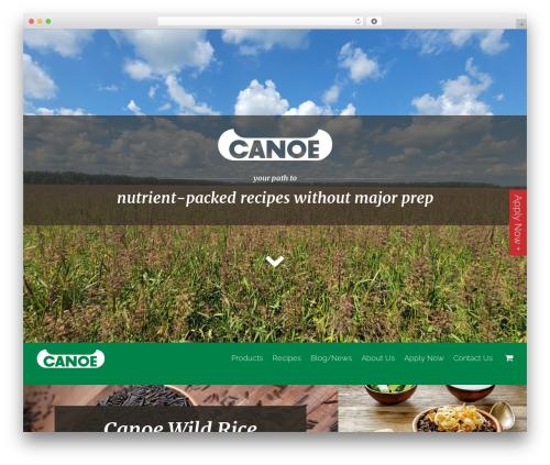 Canoe WordPress free download - canoewildrice.com