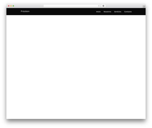 Divi template WordPress - prazisionslp.com