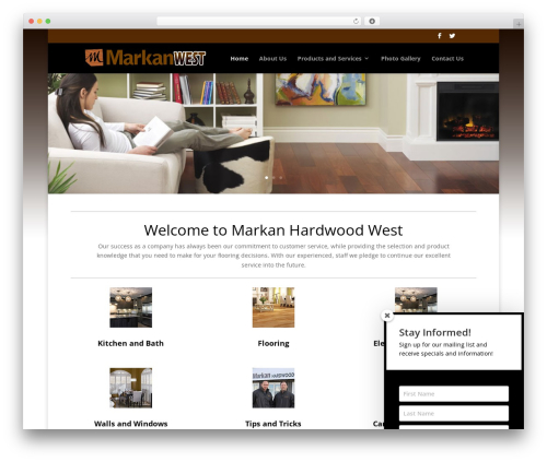 Divi top WordPress theme - markanwest.com