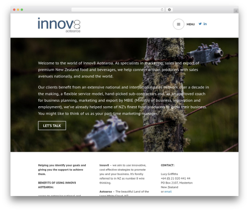 Edin WordPress template free download - innov8aotearoa.com