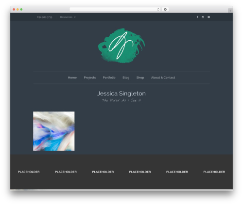 Lion - WordPress Theme WordPress theme design - jessicasingleton.com