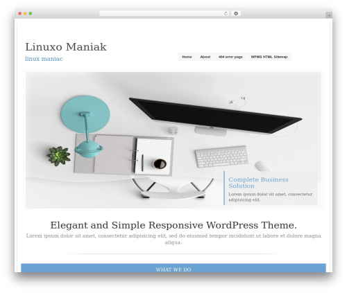 LookWay free website theme - linuxomaniak.com