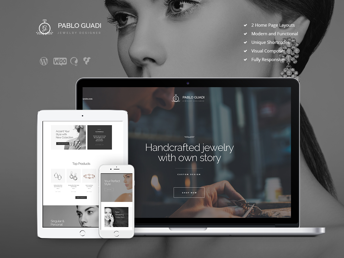 PabloGuadiChild WordPress blog theme