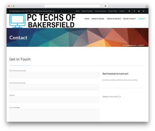 Template WordPress Elite - pctechbakersfield.com