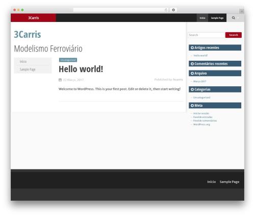 WordPress theme SmartAdapt - 3carris.com