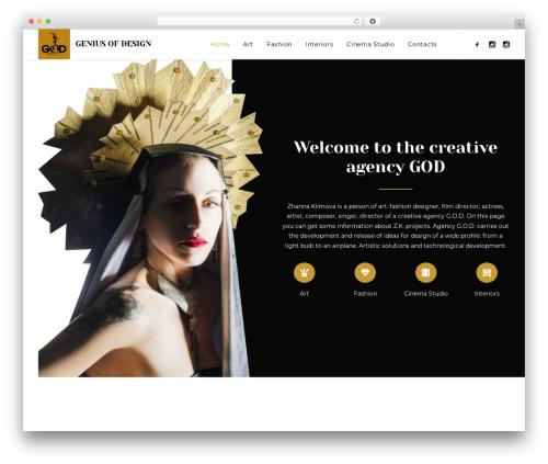WordPress theme Uncode - zhannaklimova.com