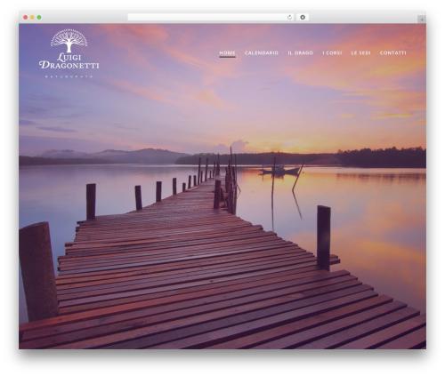 WordPress website template Mesmerize PRO - luigidragonetti.it