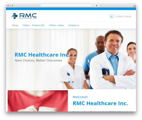 BeDENTIST top WordPress theme - rmchealthcare.com
