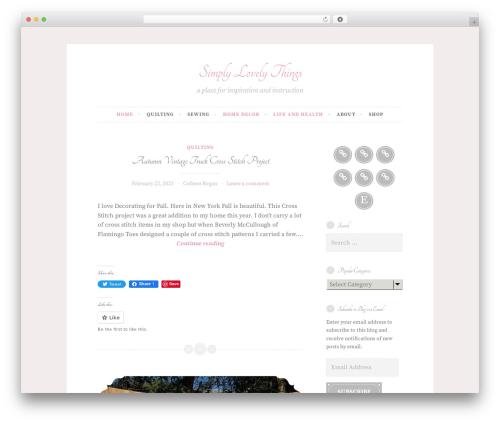 Button 2 theme WordPress - simplylovelythings.com