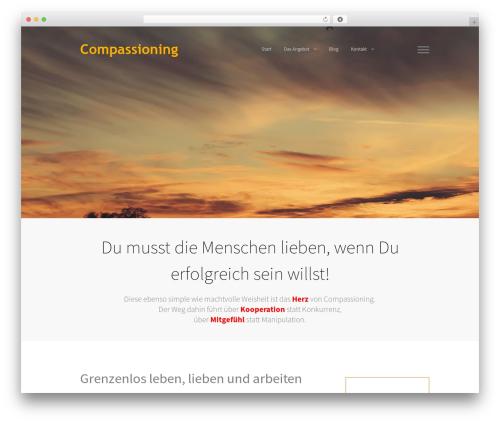 Gemini WordPress page template - compassioning.com