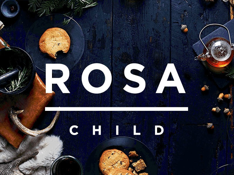 Rosa Child - Pastina WordPress restaurant theme