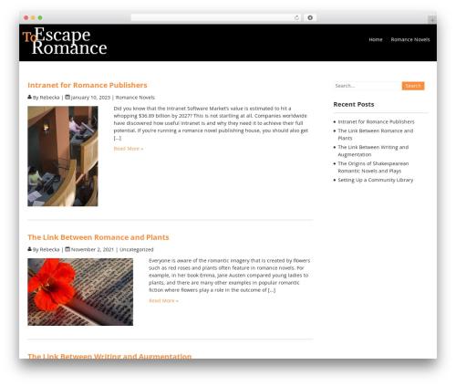 Terminal Lite WordPress theme download - escapetoromance.com