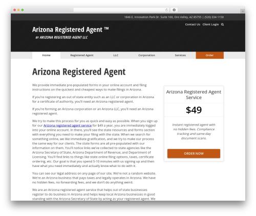 The Theme top WordPress theme - arizonaregisteredagent.com