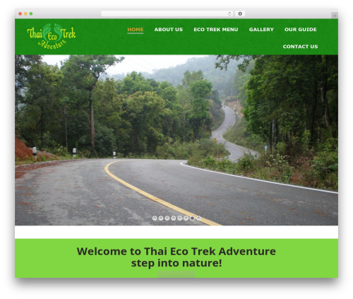 The7 WordPress theme - thaiecotrekadventure.com