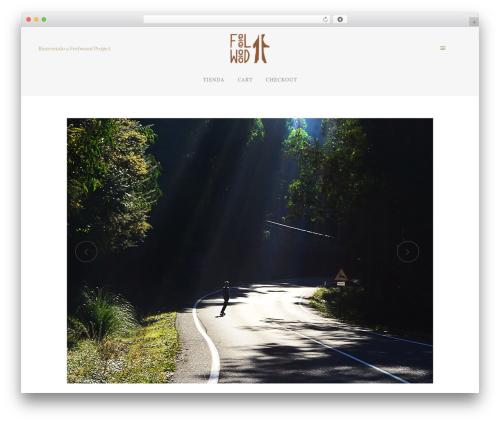 Theme WordPress Bridge - feelwoodproject.com