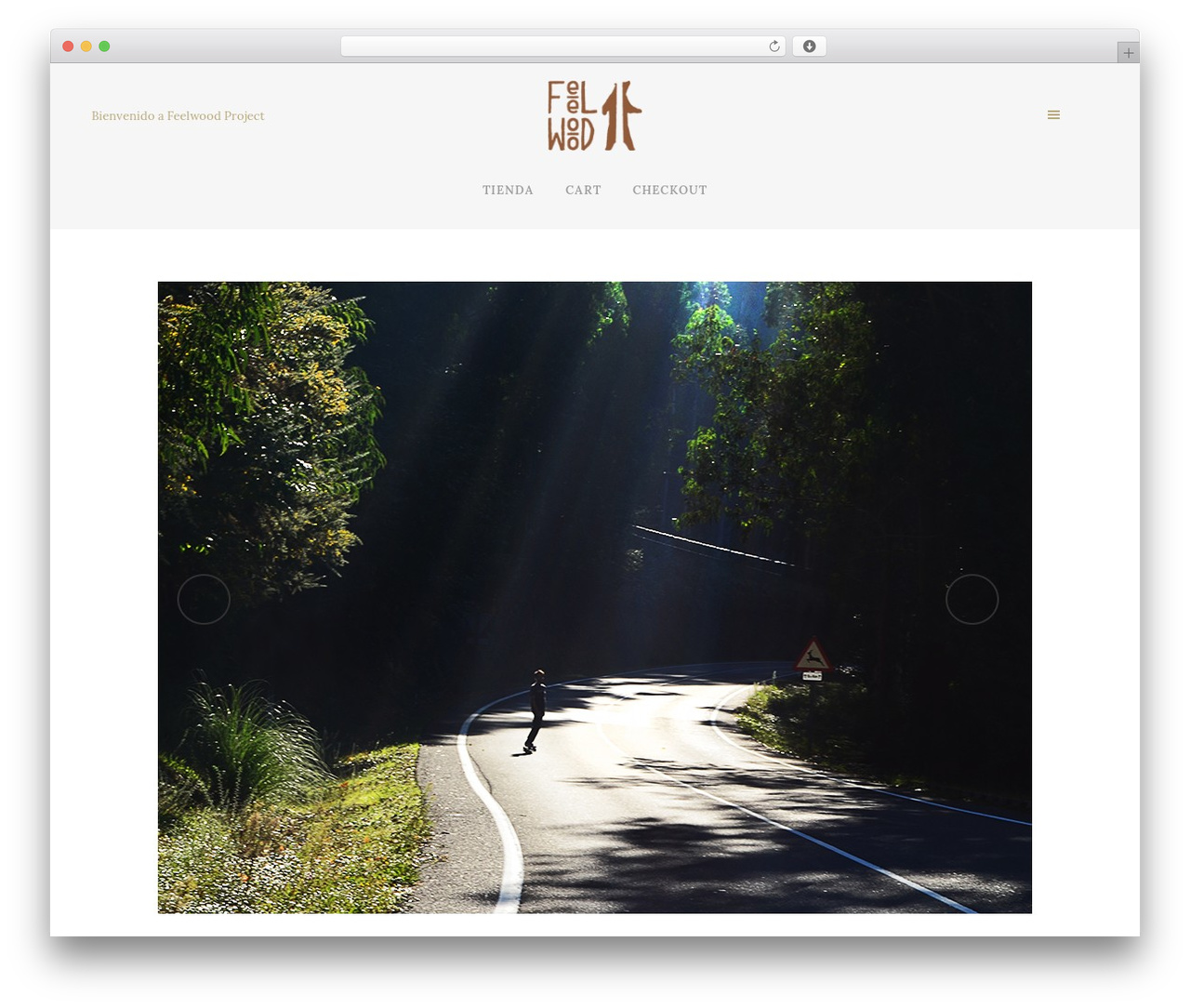 Theme WordPress Bridge - feelwoodproject.com