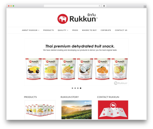 Theme WordPress Edge - rukkun.com