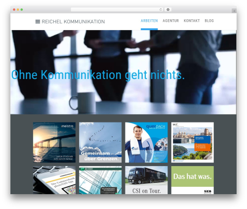 WordPress theme DI Basis 2.7.3 - reichel-kommunikation.com