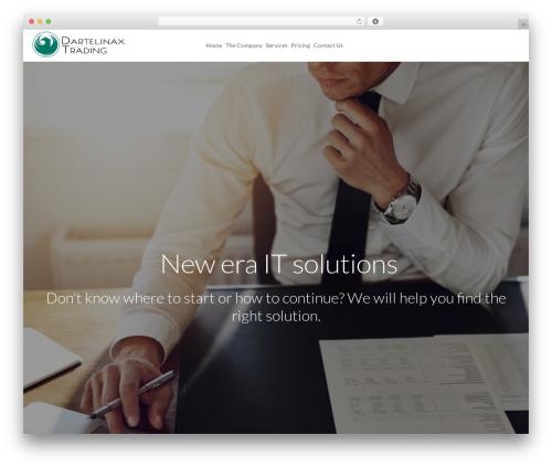 WordPress theme LaunchKit - dartelinax.com