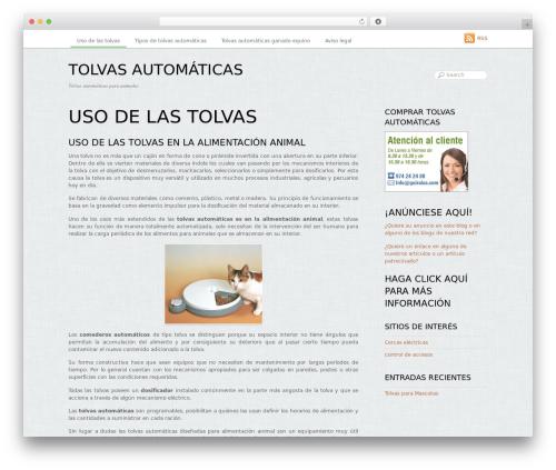Best WordPress template Grido - tolvasautomaticas.es