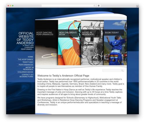 Biosphere premium WordPress theme - teddyanderson.com