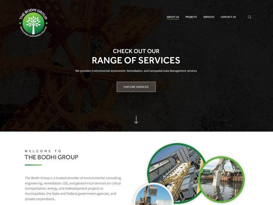 bodhi WordPress theme